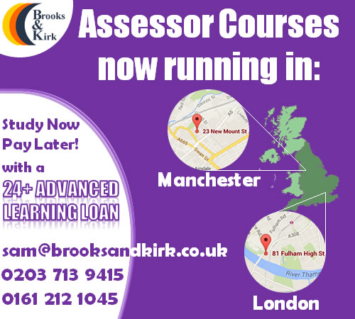Assessor Courses now running! Limited places available!