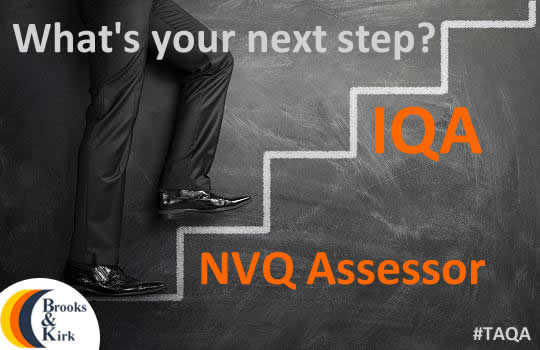 Next step IQA NVQ Assessor