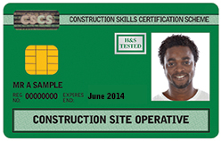 cscs card assessor training