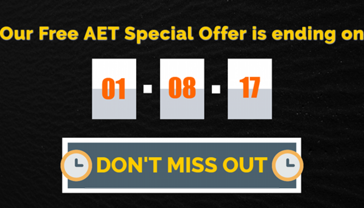 Free-AET-offer-end