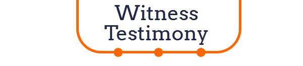 witness testimony title