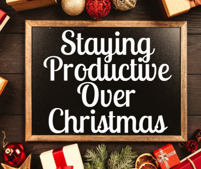 staying productive over christmas