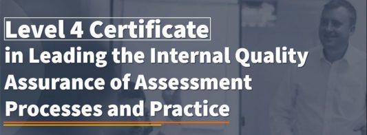 This is the most highly regarded of all the IQA qualifications. It is often referred to as the Lead IQA qualification.   It equips you with all the skills necessary to not only quality assure qualifications but also lead and manage the whole quality assurance process.