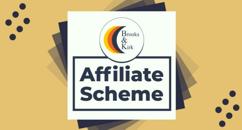 affiliate scheme brooks and kirk logo
